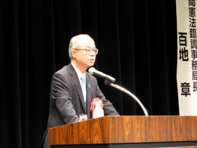 日本会議大阪設立15周年記念講演会005
