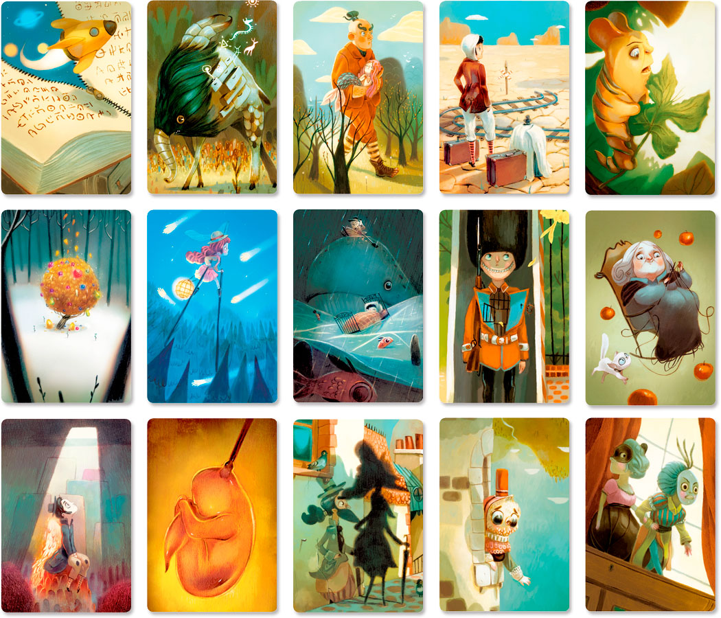 ディクシット4:カードイラスト15枚