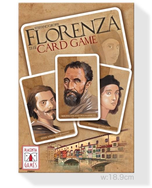 フロレンツァ・カードゲーム:箱
