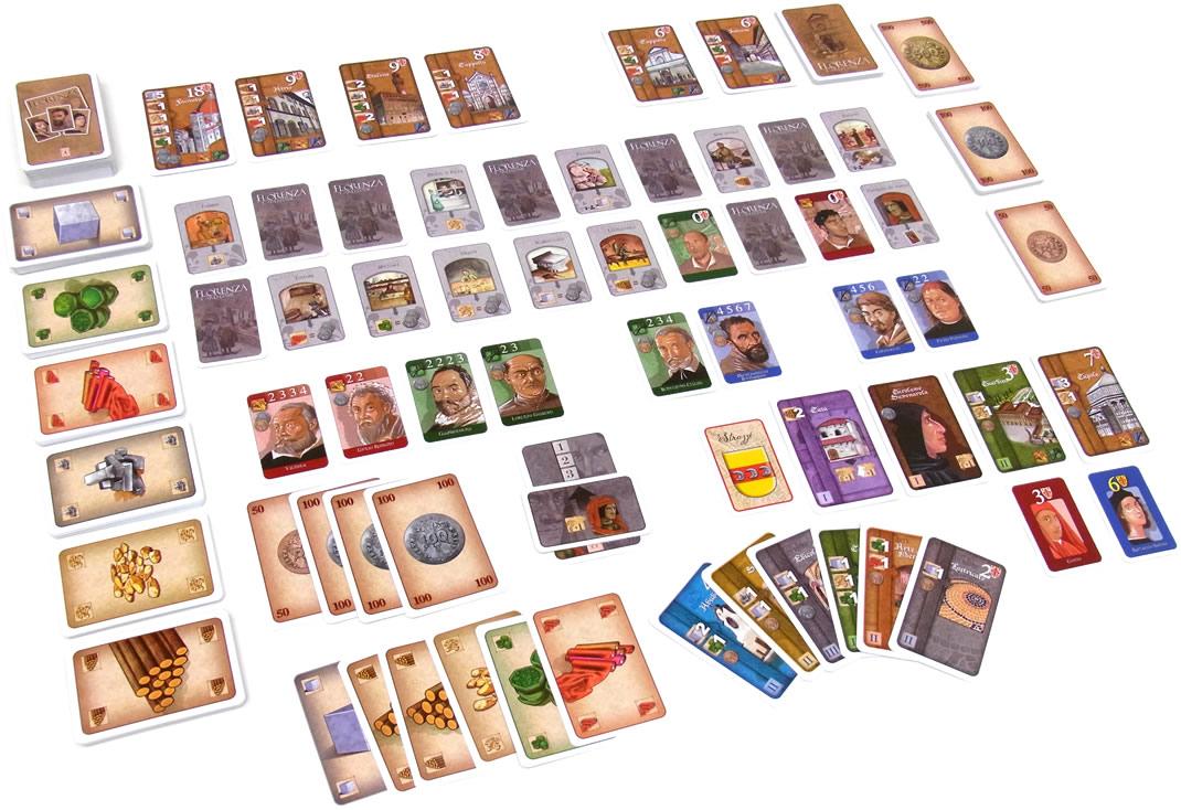 フロレンツァ・カードゲーム:展示用写真