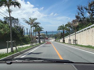 海へと続く道