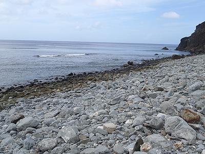 北部-転石海岸