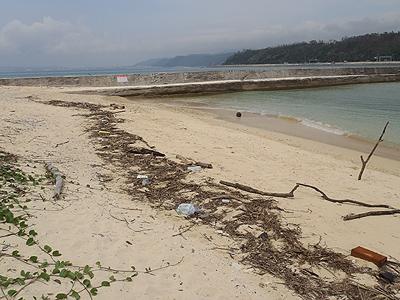 許田の海岸