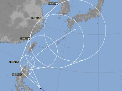 台風16号-2014年-気象台