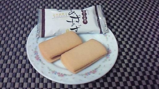 小豆クリームサンドクッキー