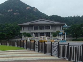 青瓦台(チョワンデ)は韓国の大統領府