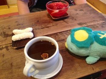 なつめ茶と伝統菓子