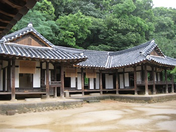韓国民俗村の両班屋敷