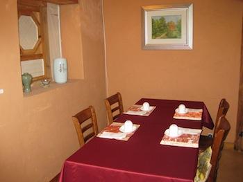 両班屋敷を利用した料理屋さんのお部屋