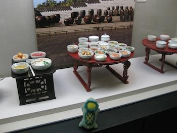 水刺間(スラッカン/王宮の厨房)の看板と宮廷料理