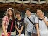 韓国の日本語を学ぶ学生さんたちと
