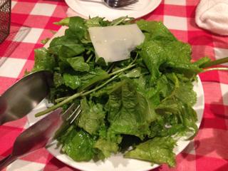 香菜のサラダ