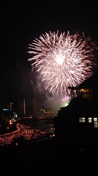 川祭り花火