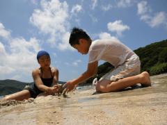 人津久海水浴場 砂2