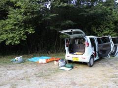 宮崎の河原キャンプ場4