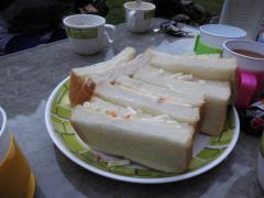 大平渓谷 サンドイッチ