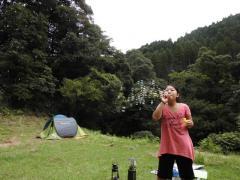 大平渓谷 シャボン玉