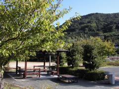 潮井崎公園 東屋・水道