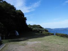 潮井崎公園 テントサイト2