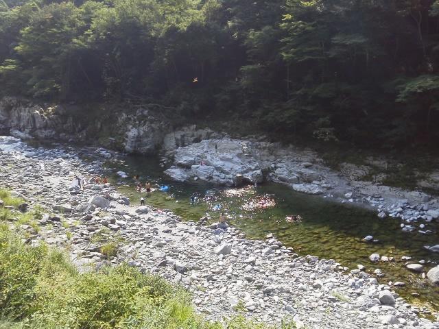 祖谷渓キャンプ村 川
