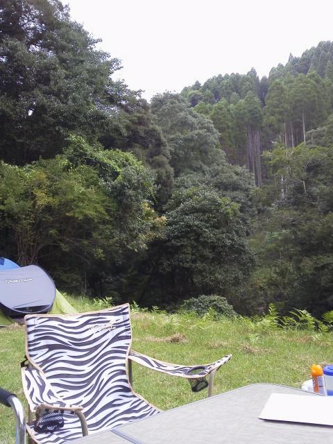 大平渓谷 テントサイト