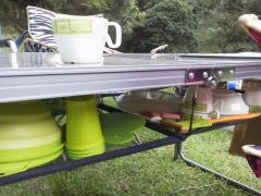 大平渓谷 テーブル