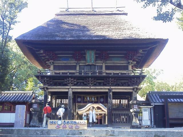青井阿蘇神社 門