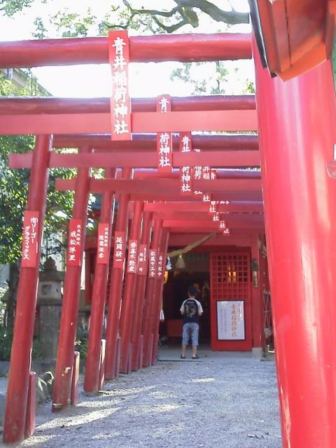 青井阿蘇神社 鳥居2