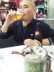 京都「横綱」にてクラシックラガーで乾杯