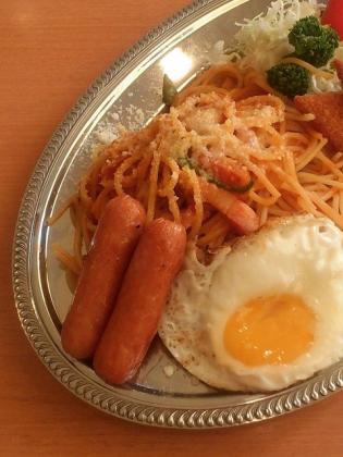 不二家レストラン、なつかしの昭和洋食メニューからナポリタンプレート3