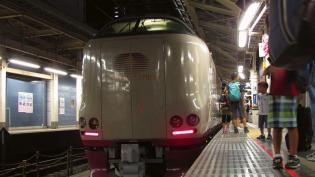 東京駅、東海道線ホームニューデイズ(コンビニ)で肉の万世の万かつサンド1