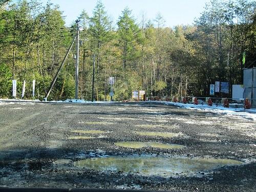 s-道道から駐車場