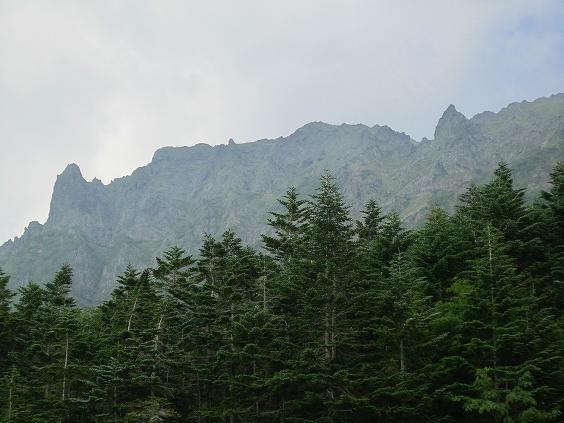 夕暮れの横岳