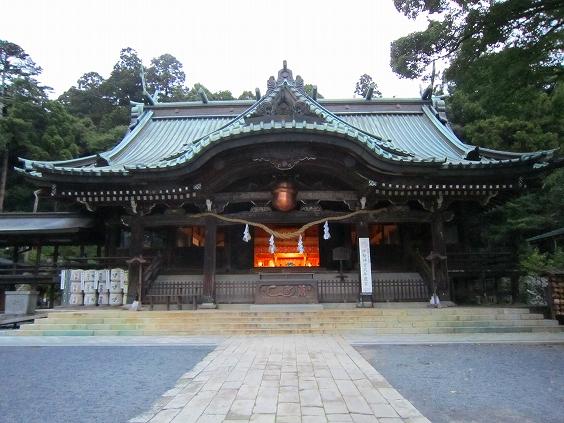 静寂の筑波神社