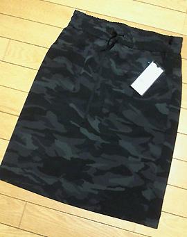 「iCB」のカモフラ柄のテロ素材スカート