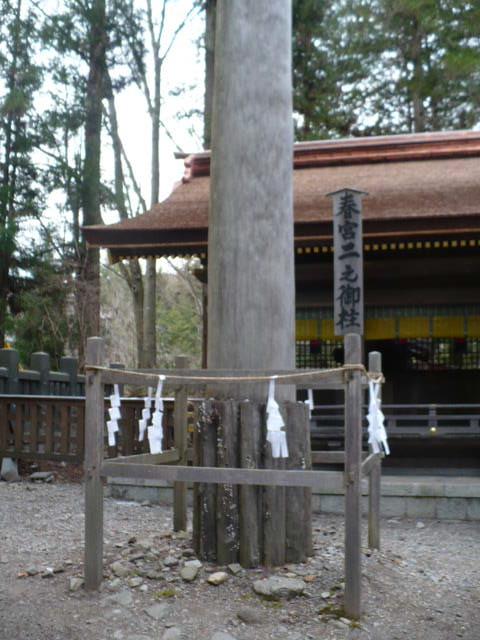 御柱祭:6年前の御柱