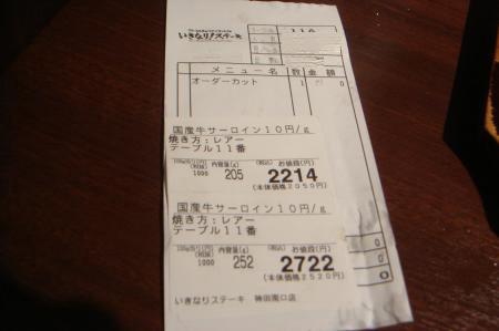いきなりステーキ11S