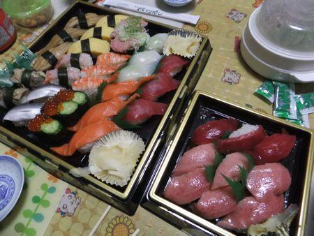 お寿司ディナー