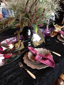西洋館 ハロウィン テーブルコーディネート3