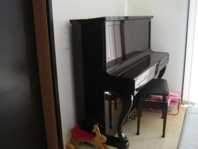 ピアノカバー洗い1