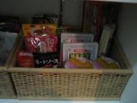 食品庫カゴ 麺類