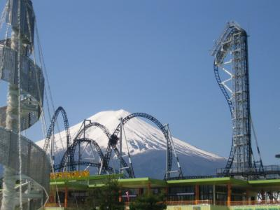 富士急ハイランド 富士山
