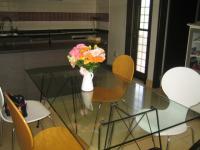 発表会のお花飾り テーブル