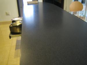 キッチンカウンター 拭き掃除2