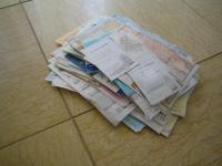 書類整理 処分品