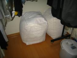 冬用寝具 収納