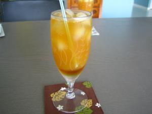 紅茶のカクテル