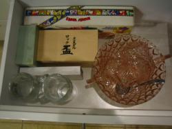 食器棚 引出し グラスの段