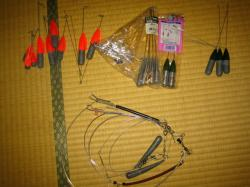 釣り具整理 錘1