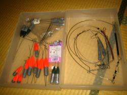 釣り具整理 錘2